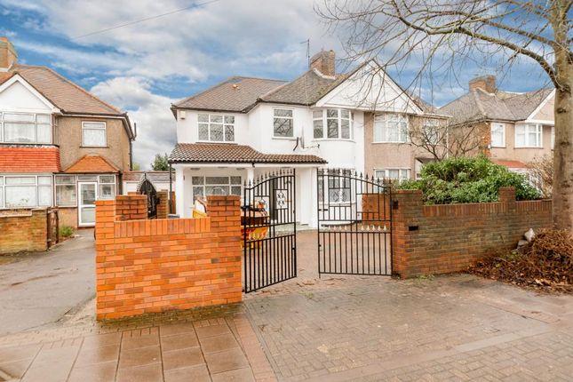 Thumbnail Semi-detached house to rent in Uxbridge Road, Feltham