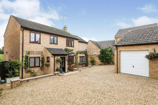 Thumbnail Detached house for sale in Millfield Avenue, Cottingham, Market Harborough