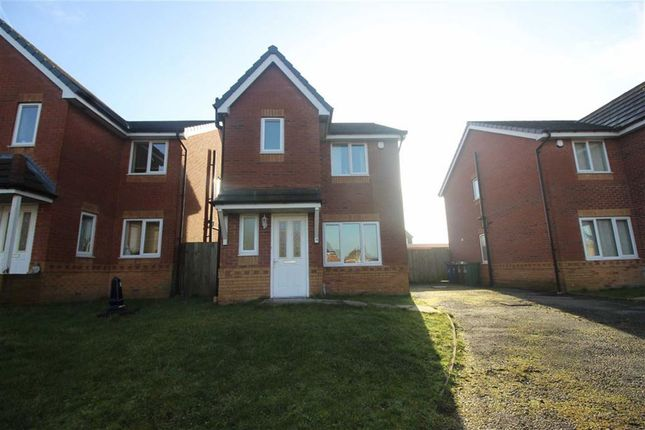 Thumbnail Detached house for sale in Emlea Gardens, Ince, Wigan