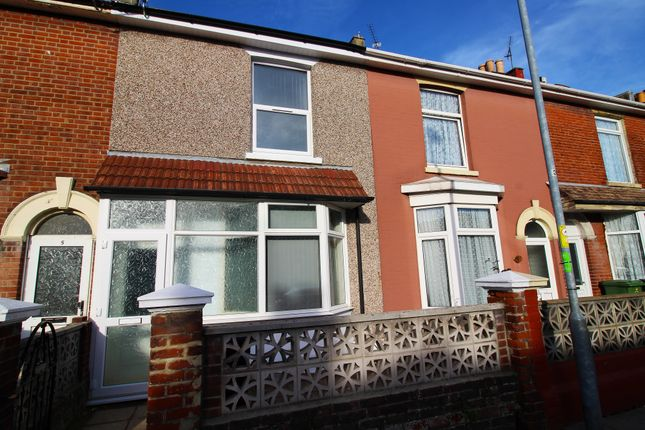 Thumbnail Terraced house to rent in Chichester Road, Portsmouth