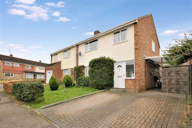 Thumbnail Semi-detached house for sale in White Lion Park, Malmesbury, Wiltshire