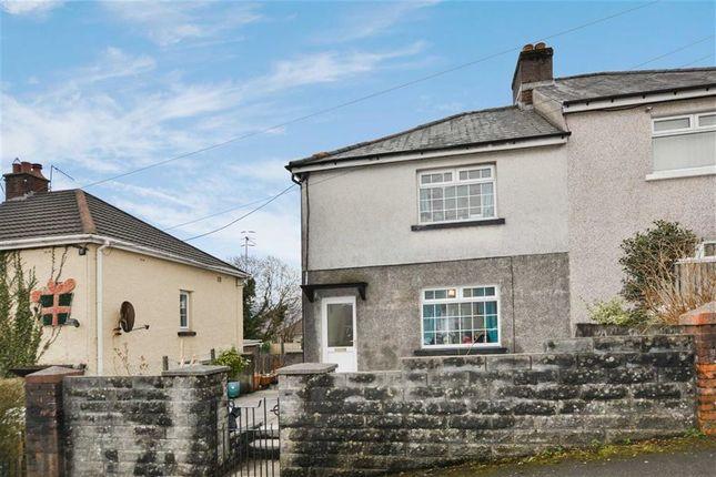 Thumbnail Semi-detached house for sale in Trefelin, Aberdare, Rhondda Cynon Taff