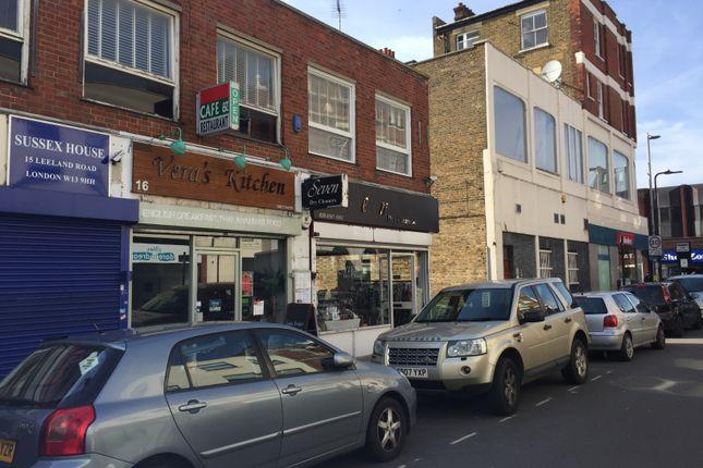 Retail premises to let in Leeland Road, London