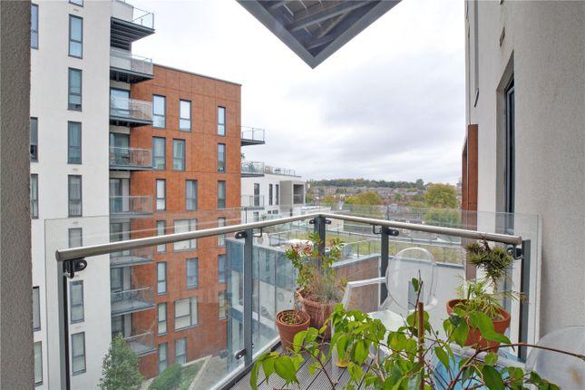 Balcony of Bellville House, 79 Norman Road, Greenwich, London SE10