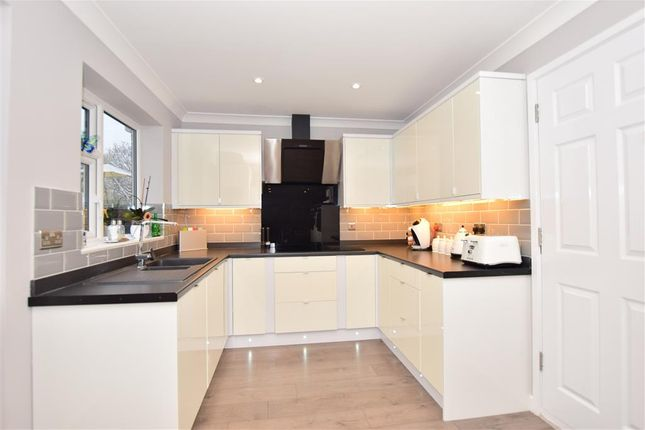 Thumbnail Detached house for sale in Kirkdale Close, Lords Wood, Chatham, Kent