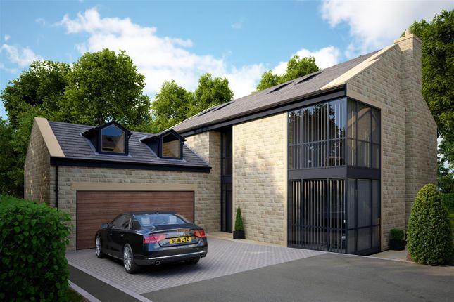 Thumbnail Detached house for sale in The Cedars, 6 Lea Gardens, Leeds Road, Hipperholme