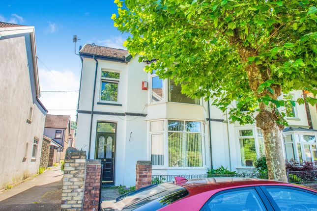 Thumbnail Semi-detached house for sale in The Parade, Pontypridd