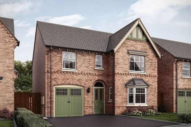 Thumbnail Detached house for sale in The Featherstone, Hilltop View, Burton On Trent
