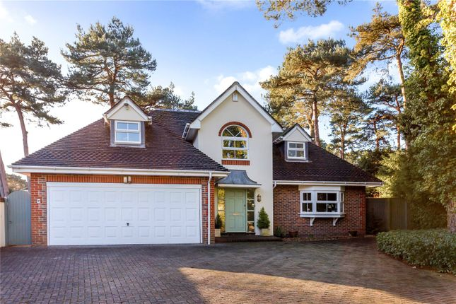 Thumbnail Detached house for sale in Links Road, Canford Cliffs, Poole