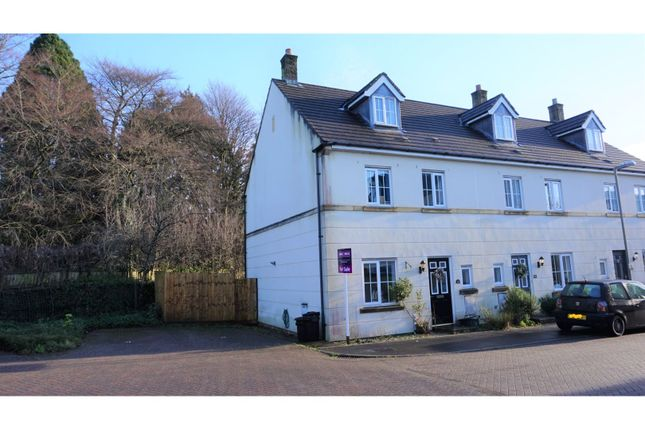 Thumbnail Town house for sale in Tiddy Close, Tavistock