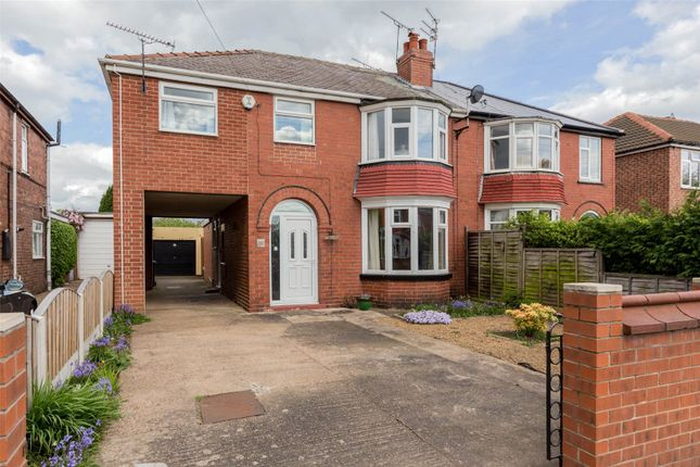 Thumbnail Semi-detached house for sale in Somersby Avenue, Doncaster