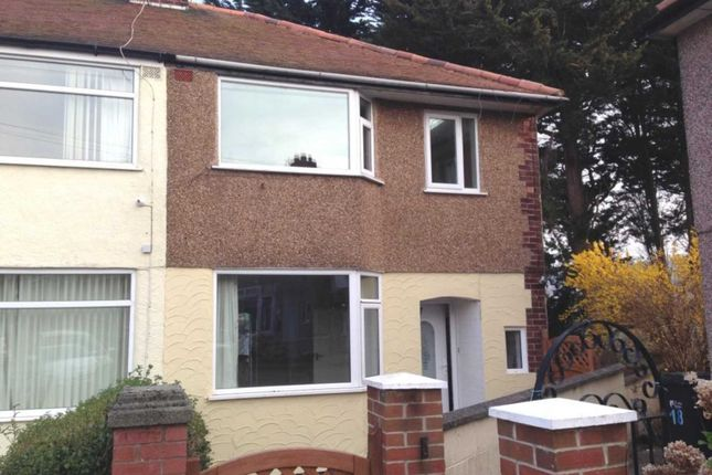 Thumbnail Semi-detached house to rent in Pen- Y-Maes Gardens, Holywell
