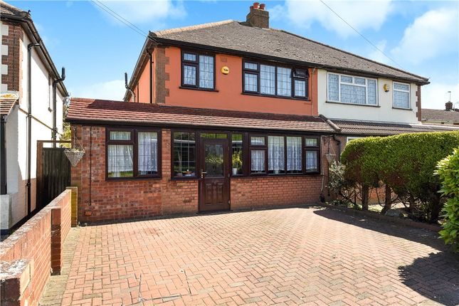 Thumbnail Semi-detached house for sale in Town Lane, Stanwell, Staines-Upon-Thames