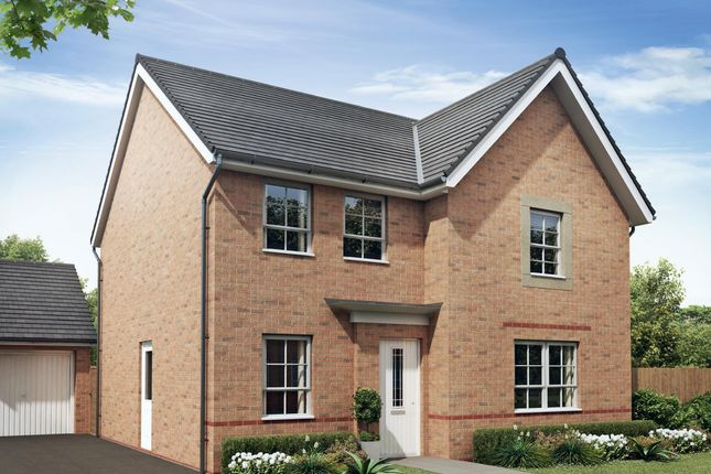 "Thumbnail Detached house for sale in ""Radleigh"" at Neath Road, Tonna, Neath"
