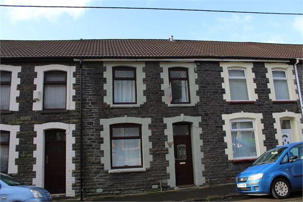 Terraced house for sale in Tyntyla Avenue, Ystrad, Tonypandy, Mid Glamorgan.