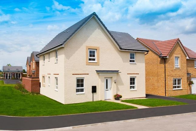 "Thumbnail Detached house for sale in ""Alderney"" at Bankwood Crescent, New Rossington, Doncaster"