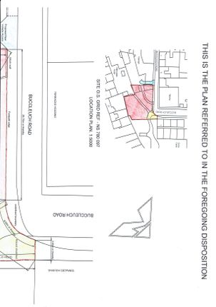Deed Plan2 of Buccleuch Road, Sanquhar DG4