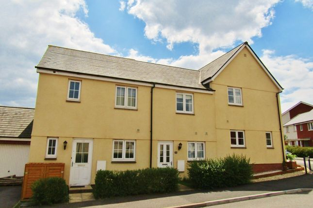 Thumbnail Terraced house to rent in Brooks Warren, Cranbrook Nr Exeter