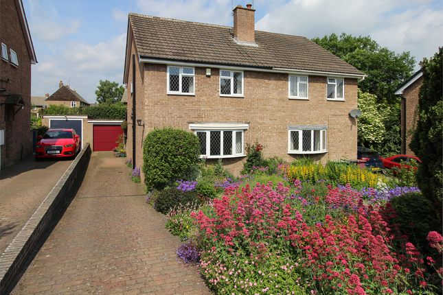 Thumbnail Semi-detached house for sale in Valley Rise, Barlow, Dronfield