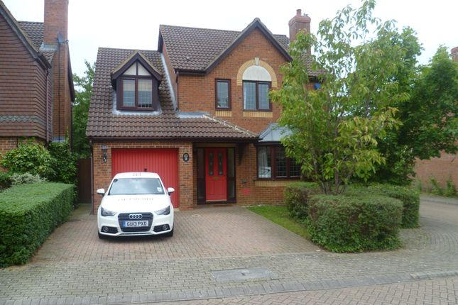 Thumbnail Detached house to rent in Mayer Gardens, Shenley Lodge