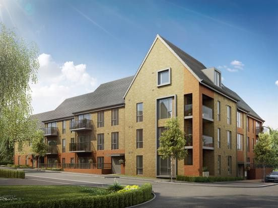 Thumbnail Flat to rent in Manor Park, Repton Manor