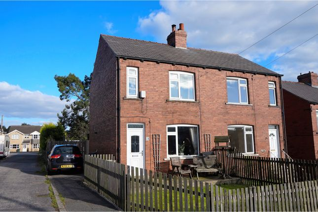 Thumbnail Semi-detached house for sale in Parkside, Flockton, Wakefield