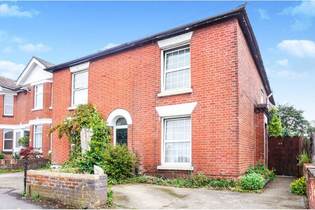 Thumbnail Semi-detached house for sale in Anglesea Road, Shirley, Southampton