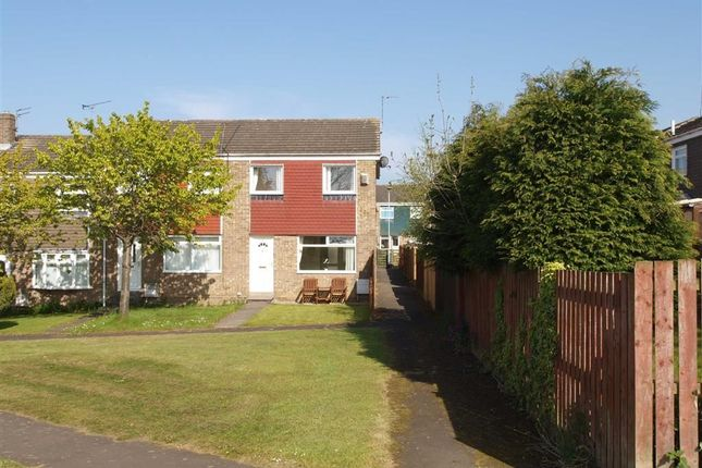 Thumbnail End terrace house for sale in Norwich Way, Cramlington