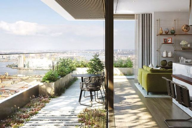 Thumbnail Flat for sale in The Wardian, West Tower, Marsh Wall, London