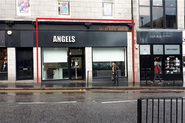 Thumbnail Retail premises to let in 8 Schoolhill, Aberdeen