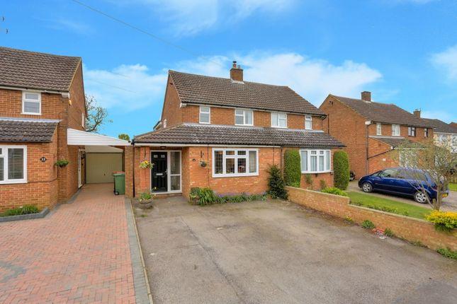Thumbnail Semi-detached house for sale in Fairgreen Road, Caddington, Luton