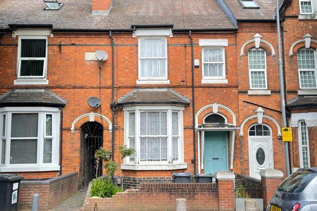 Thumbnail Terraced house for sale in Albert Road, Handsworth, Birmingham