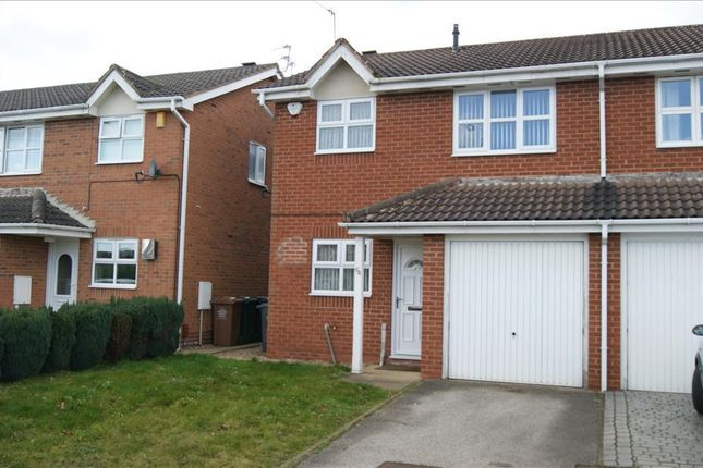 Thumbnail Semi-detached house to rent in Meadow Nook, Boulton Moor, Derby
