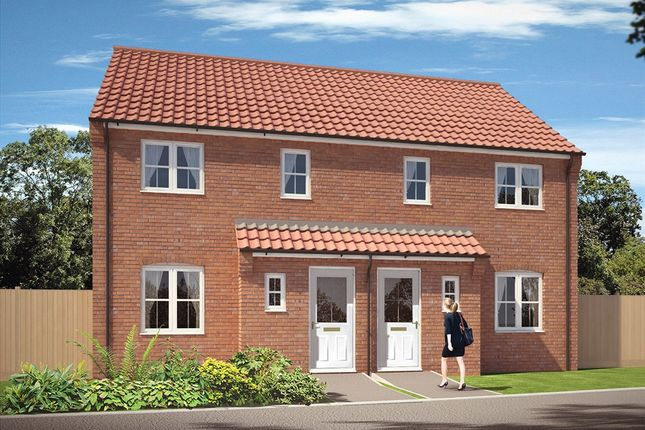 "Thumbnail Semi-detached house for sale in ""The Masefield"" at Carsons Drive, Great Cornard, Sudbury"