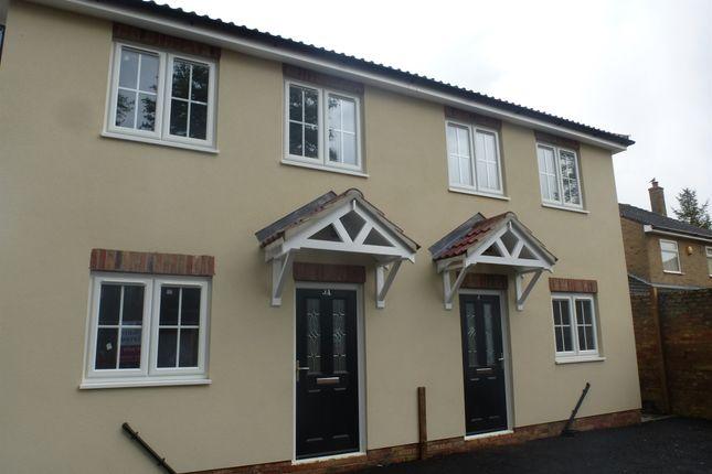 Thumbnail Semi-detached house for sale in Doddington Road, Benwick, March