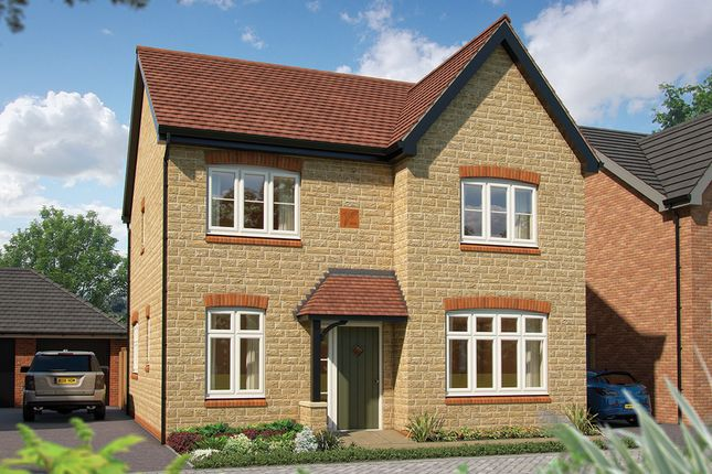"Thumbnail Detached house for sale in ""The Aspen"" at Salford Road, Bidford-On-Avon, Alcester"