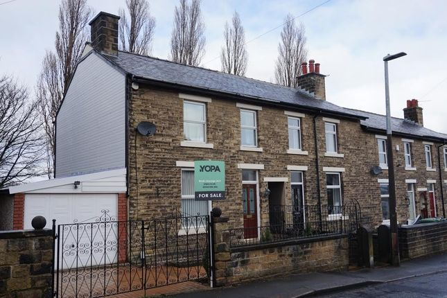 Thumbnail End terrace house for sale in Woodside Road, Huddersfield