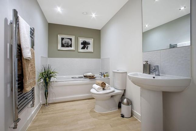 "Stylish Bathroom of ""St, Ives Apartment 1"" at Knights Way, St. Ives, Huntingdon PE27"