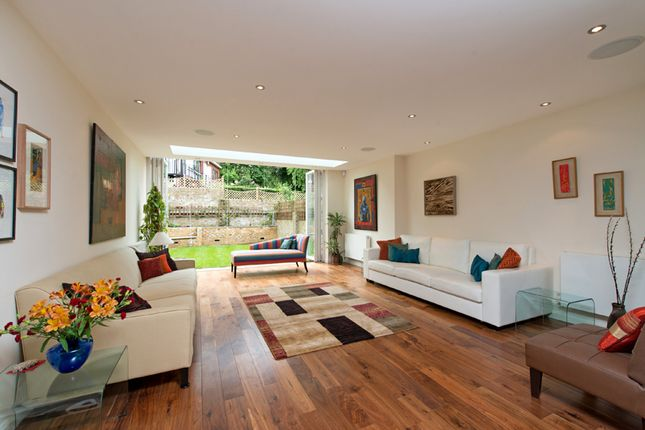 Thumbnail End terrace house for sale in Fairfax Road, Swiss Cottage, London