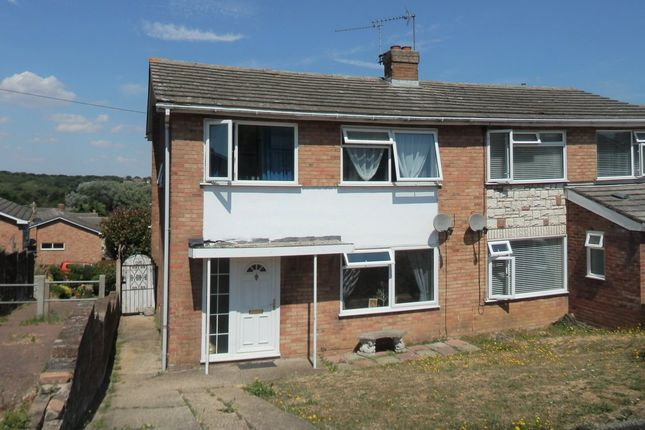 Thumbnail Semi-detached house for sale in Dockfield Avenue, Dovercourt