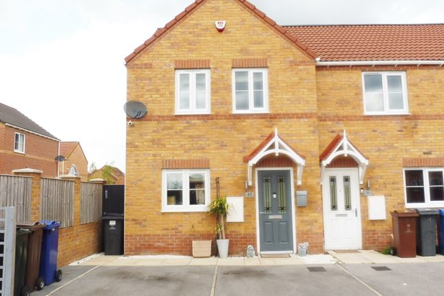 Thumbnail Town house for sale in Thornham Meadows, Goldthorpe