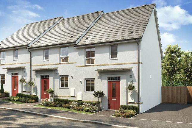 "Thumbnail End terrace house for sale in ""Barwick"" at Kergilliack Road, Falmouth"