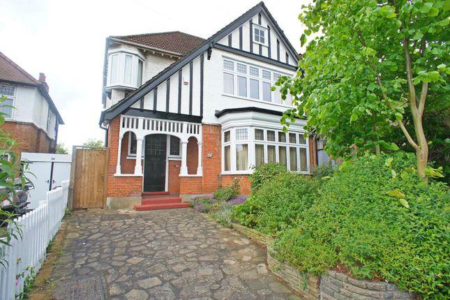 Thumbnail Semi-detached house for sale in Warren Road, London