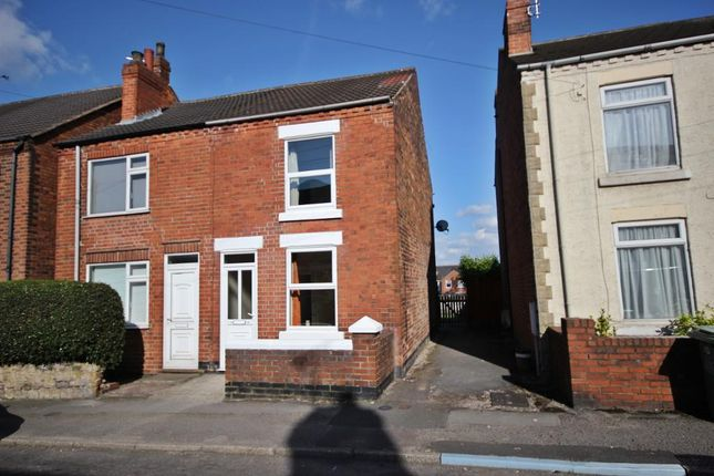 Thumbnail Semi-detached house to rent in Wilson Street, Alfreton, Derbyshire DE55, Alfreton,