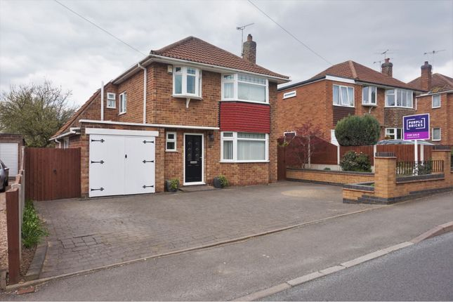 Thumbnail Detached house for sale in Kingsway, Leicester