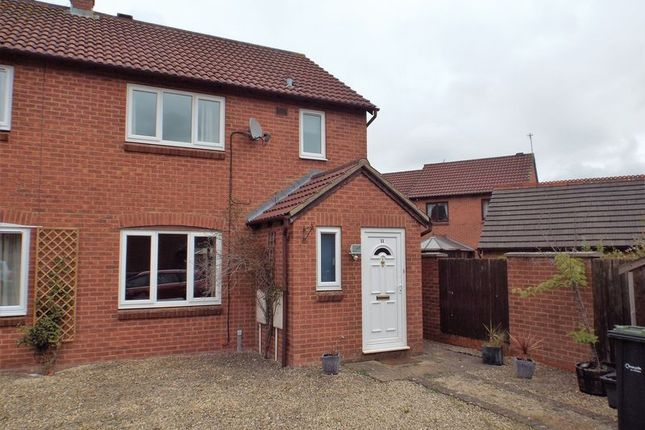 Thumbnail End terrace house to rent in Taunton Close, Chippenham