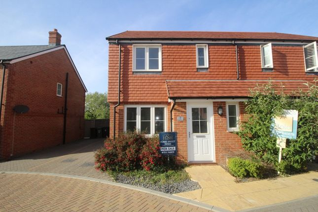 Thumbnail Semi-detached house for sale in Aster Close, Hailsham