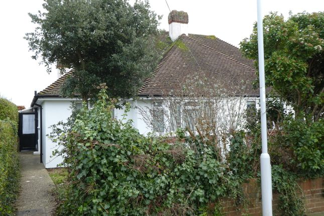 Thumbnail Semi-detached bungalow to rent in Copthorne Hill, Worthing, West Sussex