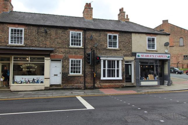 Thumbnail Terraced house to rent in North Street, Ripon, North Yorkshire