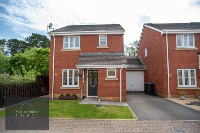 Thumbnail Detached house for sale in Clos Bronwydd, Ebbw Vale